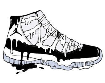 designer fashion fb37a e1b6e Air Jordan XI Concord Art
