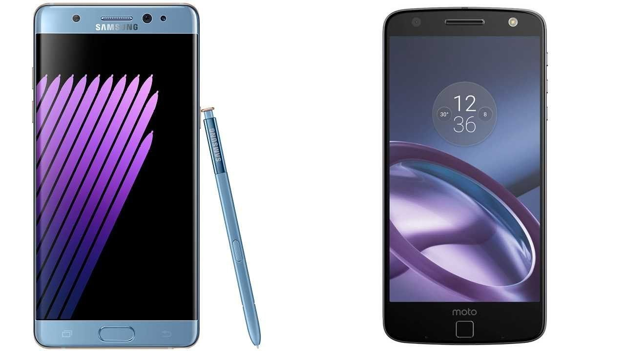 Samsung Galaxy Note 7 FE vs Motorola Moto Z Subscribe! http://youtube.com/TechSpaceReview More http://TechSpaceReview.tumblr.com