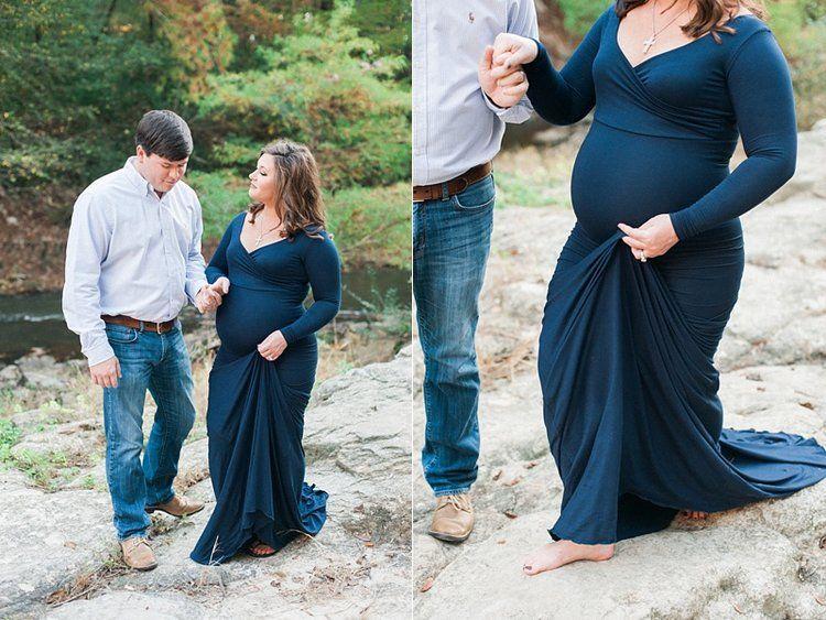 Maternity Session, Backless Dress Formal