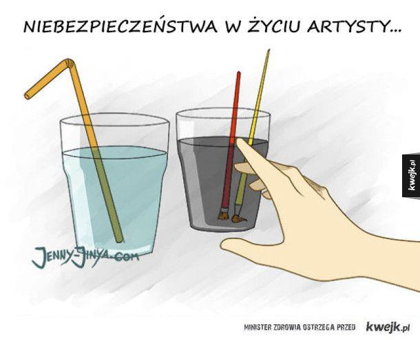 Artyści tak mają - komiksy