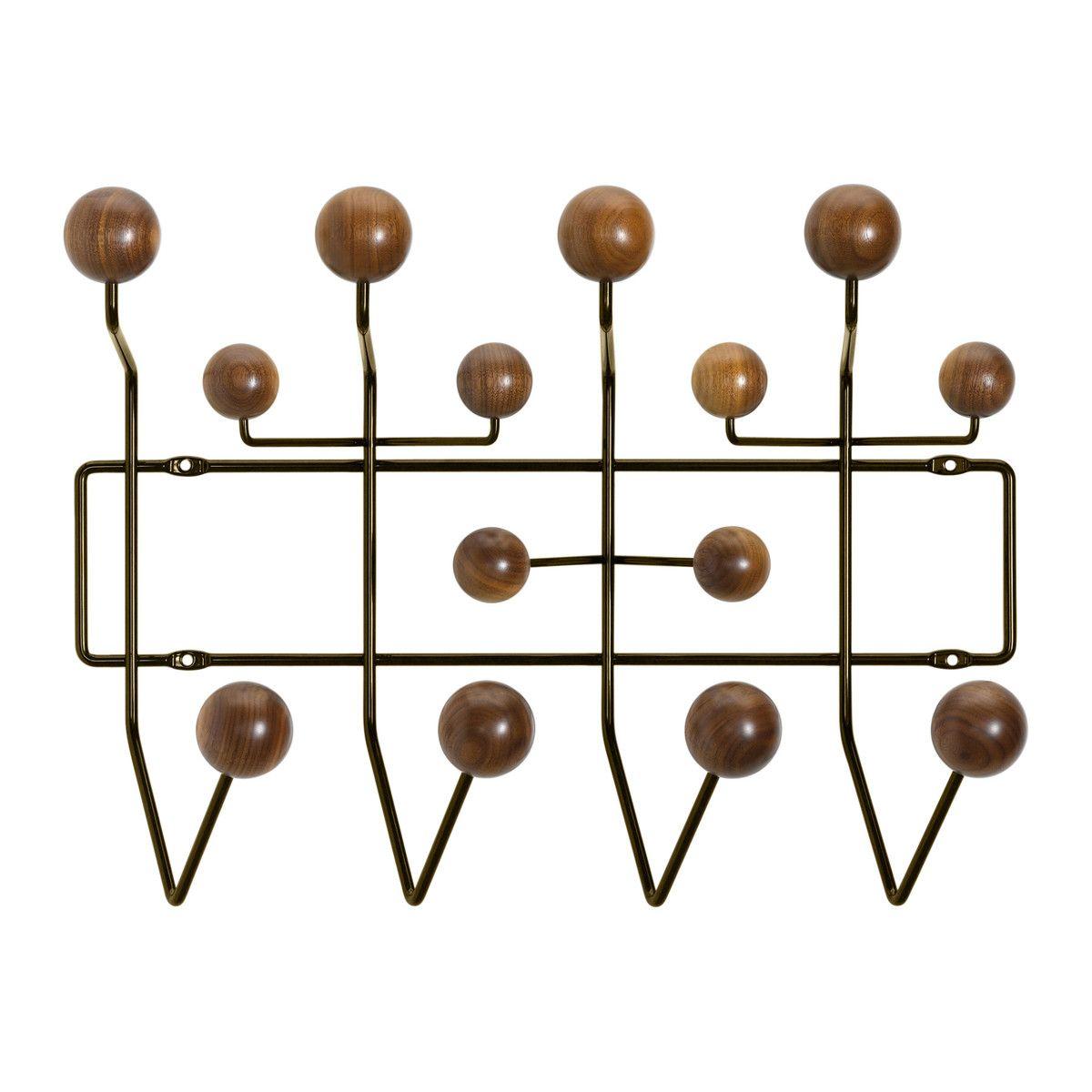 Die Hang It All Garderobe Von Vitra In Nussbaum Chocolate   Einzelabildung