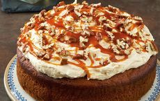 Photo of Irish salted-caramel and whiskey cake recipe