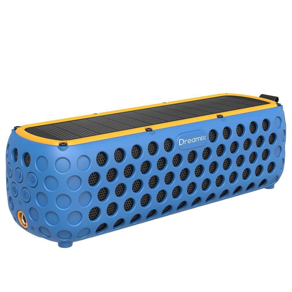 Solaire Exterieur Haut Parleur Bluetooth Airacle Basse Stereo Sans Fil Portable Boite A Musique 30 Heures Temps De Jeu Ipx5 Etan Haut Parleur Bluetooth Haut Parleur Et Stereo