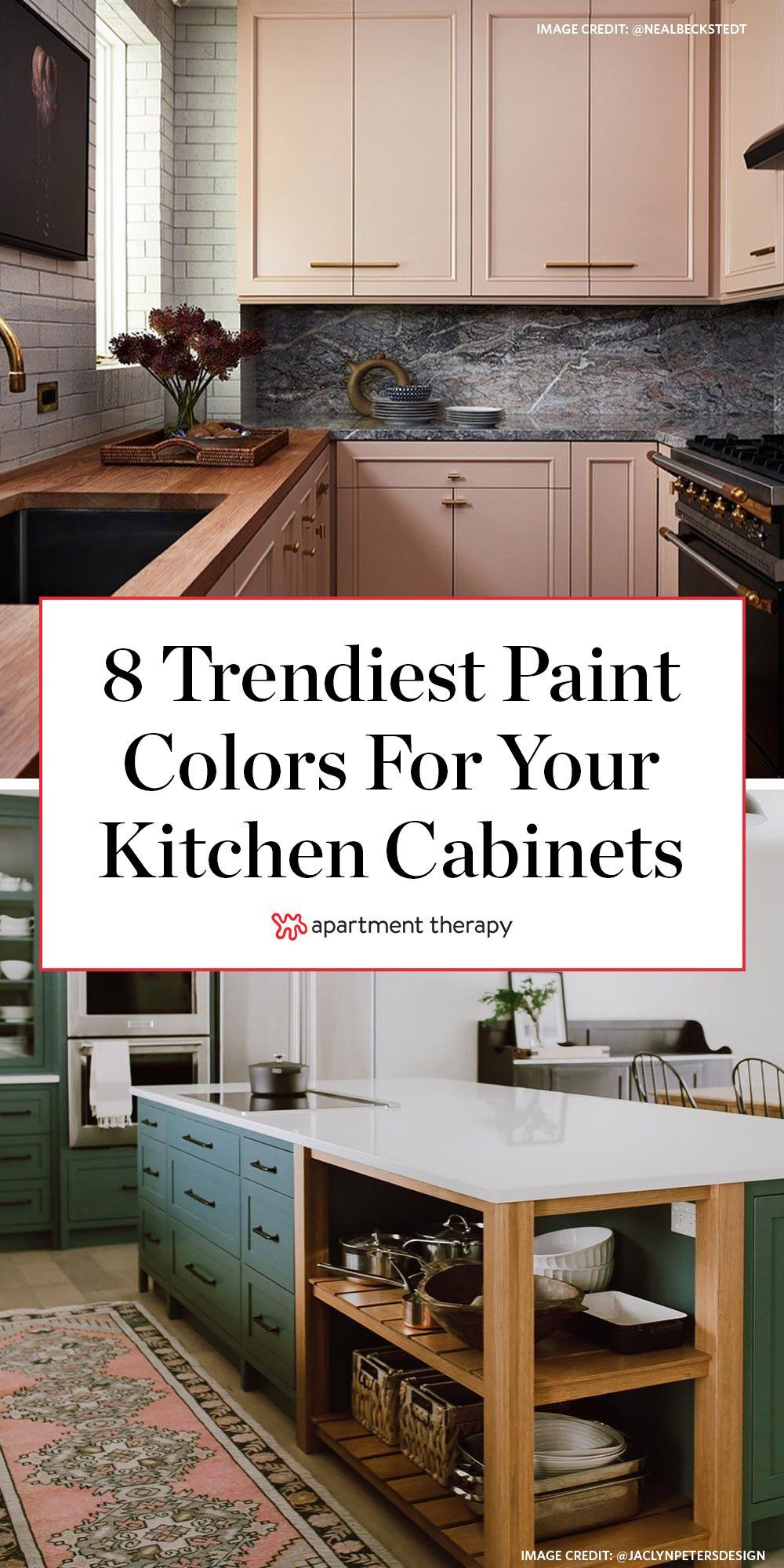 8 Kitchen Cabinet Paint Jobs We Just Can T Quit Painted Kitchen Cabinets Colors Kitchen Cabinet Design Kitchen Design Small