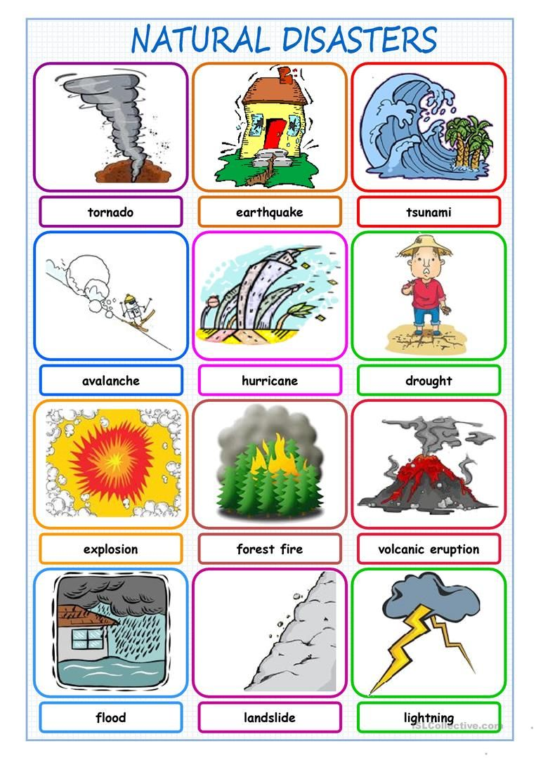 Natural Disasters Picture Dictionary Worksheet Free Esl Printable Worksheets Made By Teach Natural Disasters For Kids Natural Disasters Natural Disasters Art
