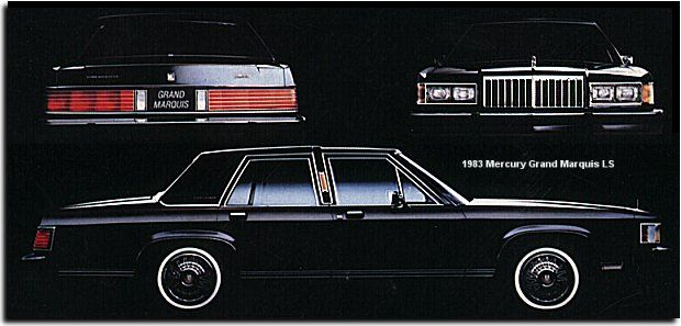 1983 Mercury Grand Marquis LS. My first grade teacher, Mrs. Taylor had a brand new one, just like this.