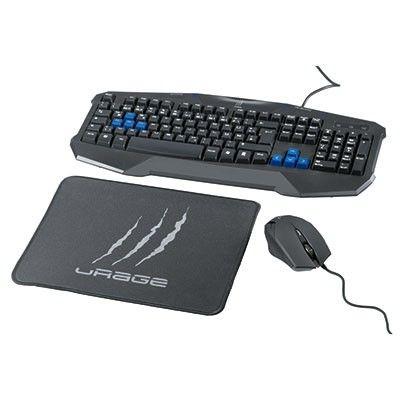Komplekt Hama Urage Starter Gejmrski Komplekt Klaviatura Mishka I Pad Default Store View Keyboard Computer Keyboard Game Controllers