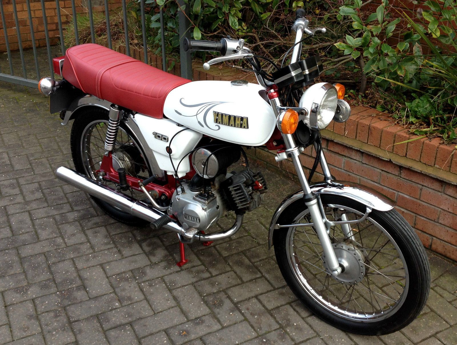 1985 Yamaha Yb100 995 Yamaha Motorcycles Yamaha Motorcycle