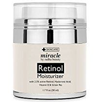 Retinol Moisturizer Cream for Face - With Retinol, Hyaluronic Acid, vitamin e and Green Tea. Best Night and Day Moisturizing Cream 1.7 Fl. Oz.