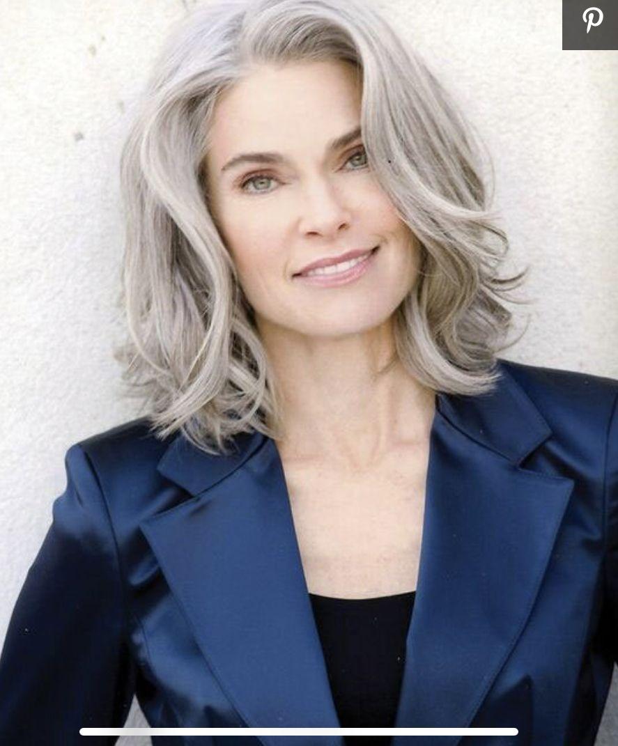 Pin By Edith Harmon On My Hair Hair Styles Medium Hair Styles Hair Styles For Women Over 50