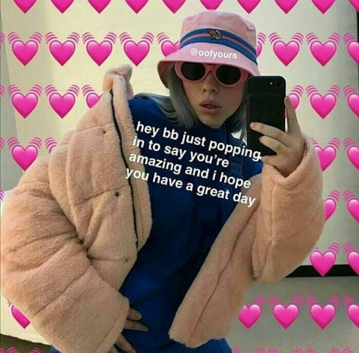 Pin By Lovisa Eriksson On Billie Eilish Cute Love Memes Cute Memes Snapchat Funny