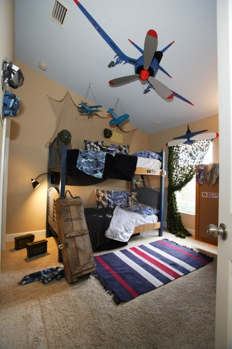 Airplane Bedroom Decor: Pin By Pam Burhite On Home In 2019