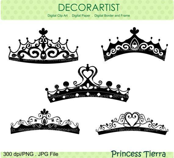 Silhouette Princess Clip Art Princess Tierra Black By Decorartist 4 80 Illustraties Prinses Tattoo Unieke Sieraden