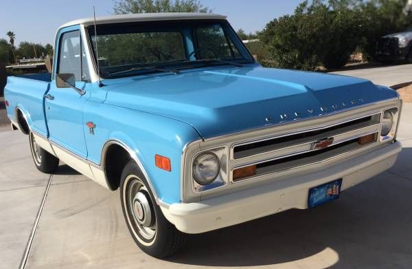 1968 C10 Short Bed 15 500 Tucson Chevrolet Trucks Chevy Models Cool Trucks