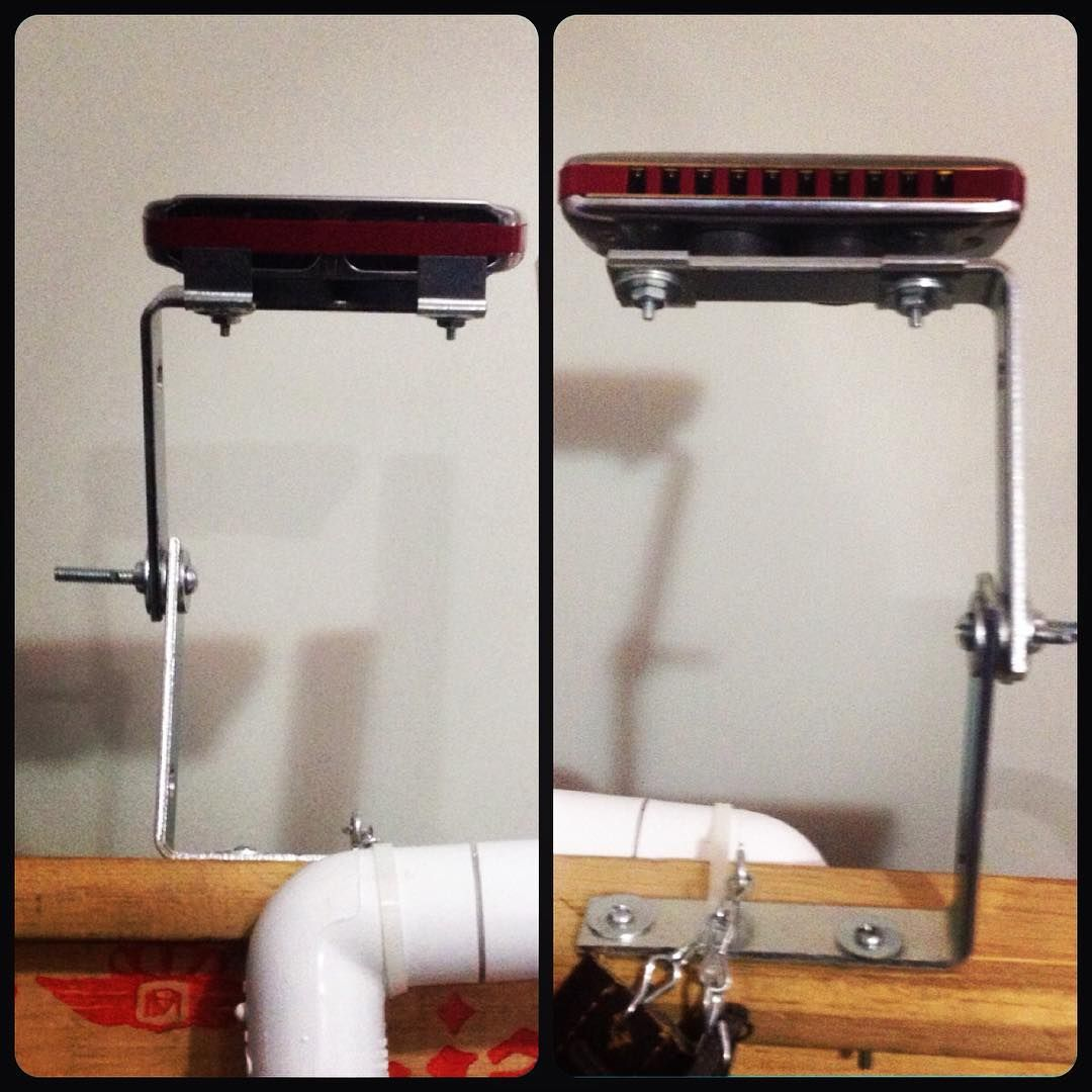 homemade kazoo holder w/ kazoo music - YouTube   Diy Harmonica Stand