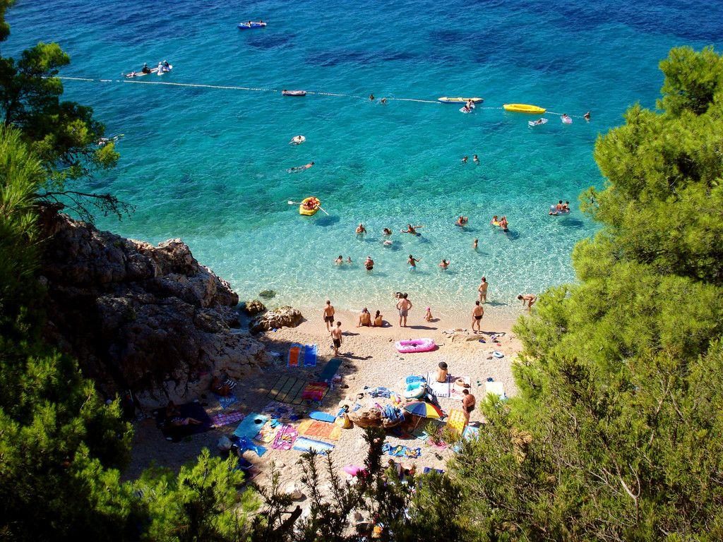 Jagodna beach, Hvar, Croatia Hvar island, Croatia