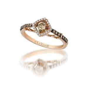 Le Vian Vanilla/Chocolate Diamond Ring Yellow Gold