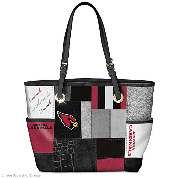 Cardinals For The Love Of The Game Tote Bag With Team Logos
