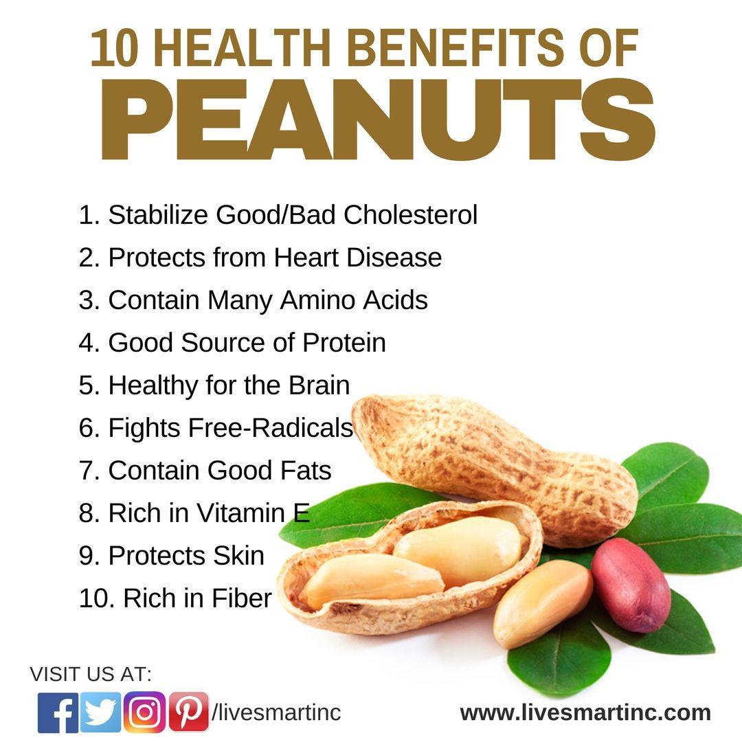Home Temp Healthy Living Peanuts Health Benefits