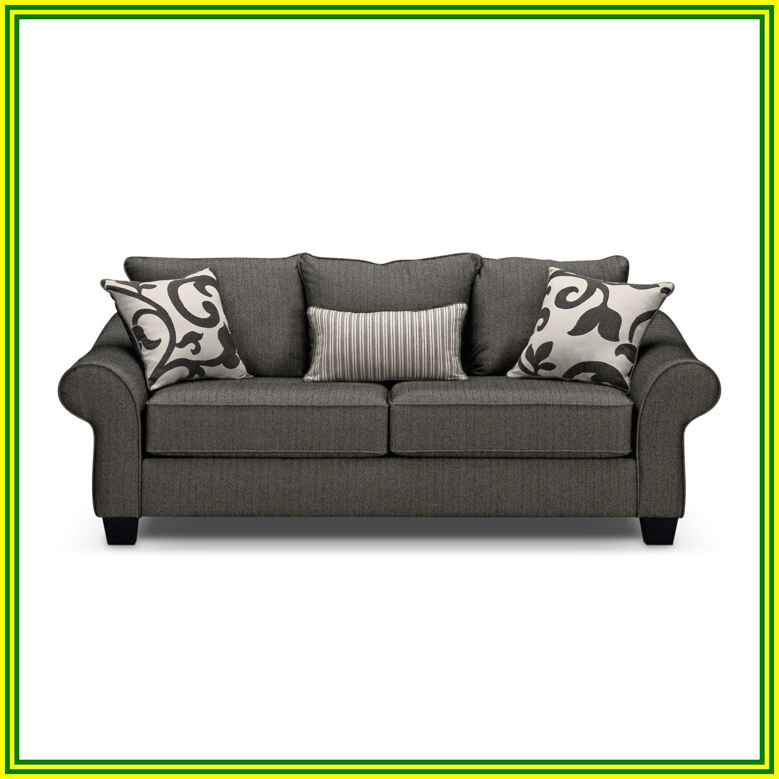 58 reference of gray black sofa in 2020 Grey furniture