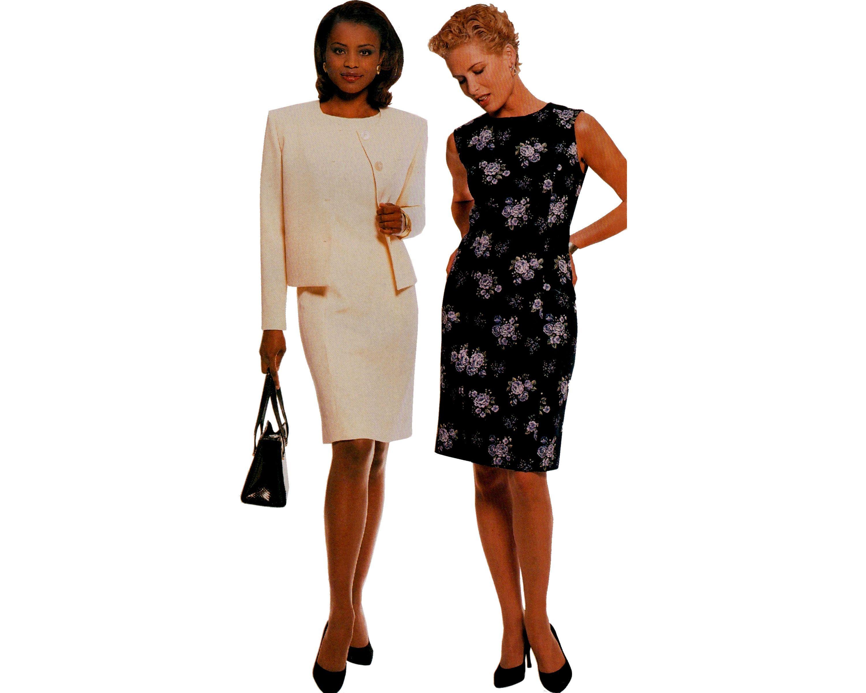 Mccall S 2554 Womens Summer Dress Sleeveless High Neck Etsy Summer Dresses For Women Knee Length Skirt Pencil Summer Dresses Knee Length [ 2400 x 3000 Pixel ]