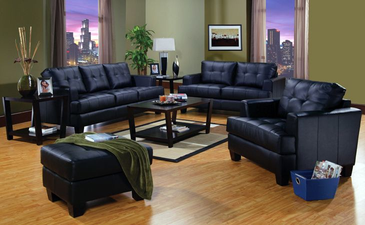 Marvelous Black Couches With Green Walls Home Leather Living Pdpeps Interior Chair Design Pdpepsorg
