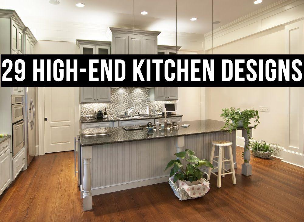High End Küchen Designs Küche befindet sich neben dem Bad in der ...