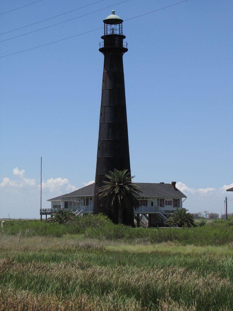 Bolivar Point Lighthouse, Galveston Texas