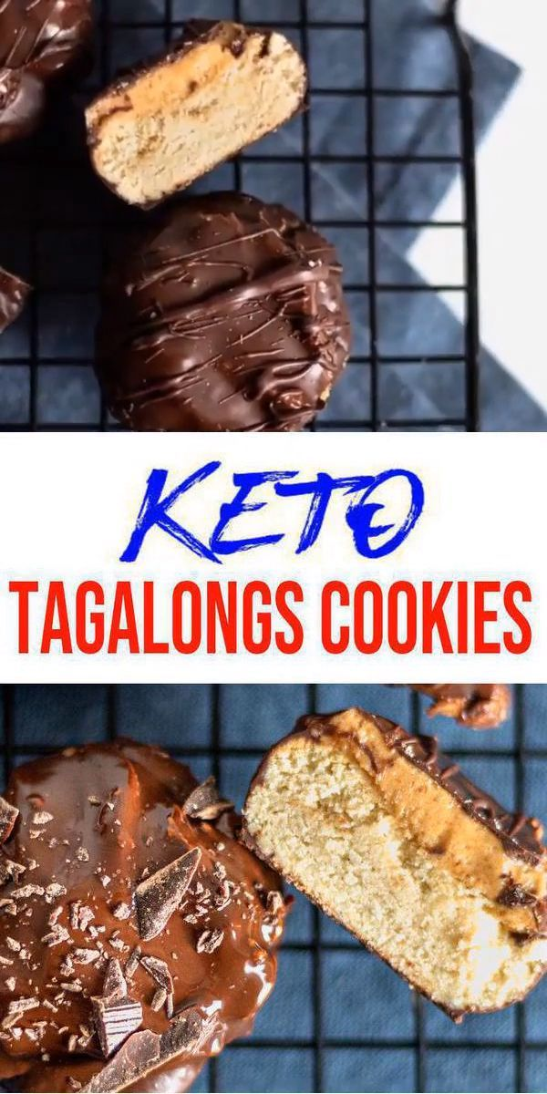BEST Keto Cookies! Low Carb Keto Tagalongs Cookie Idea – Quick & Easy Ketogenic Diet Recipe – Completely Keto Friendly – Gluten Free – Sugar Free – Copycat Girl Scout Cookies - -