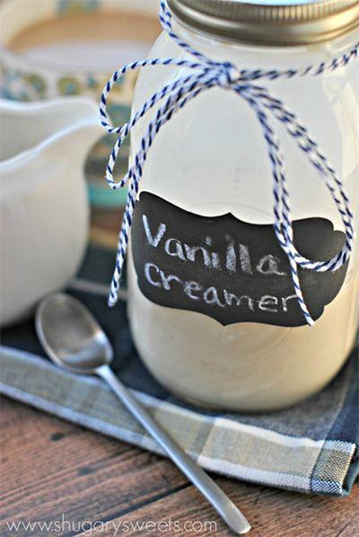 Homemade French Vanilla Creamer recipe - Gundersen Health System #frenchvanillacreamerrecipe