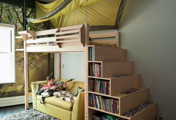 Etagenbett Idealo : Steens for kids etagenbett mit rollrost und gerader leiter white