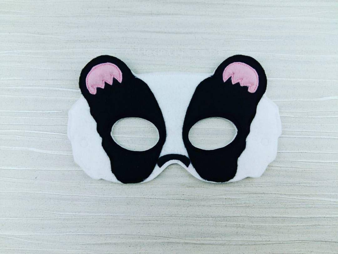 Badger Mask - Felt Mask - Badger Felt Mask - Halloween Mask ...
