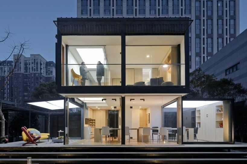 Transformable Container Smart House The Casa Club Smart Home Design Container House Dream House Exterior