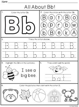Alphabet Letters A-Z (Kindergarten) | Educational ...