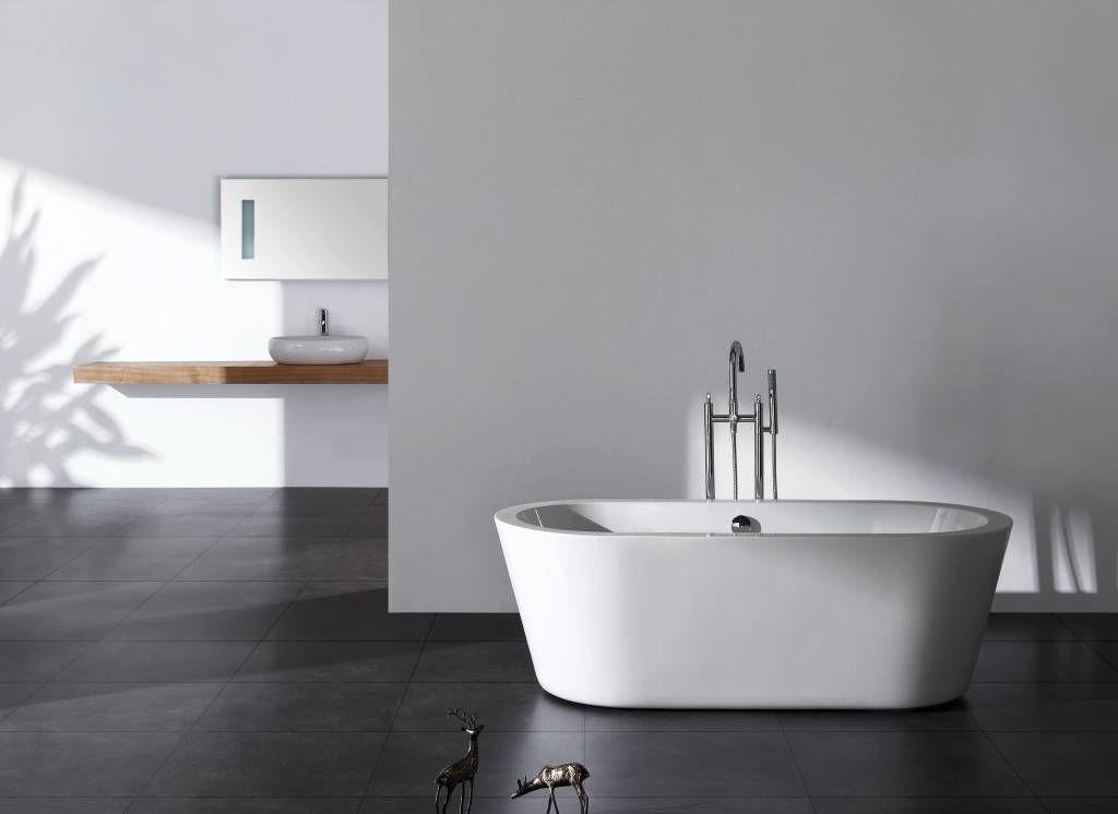 Sem Como vrijstaand bad 180x85x58cm wit - Badkamer & Co | Badkamer ...