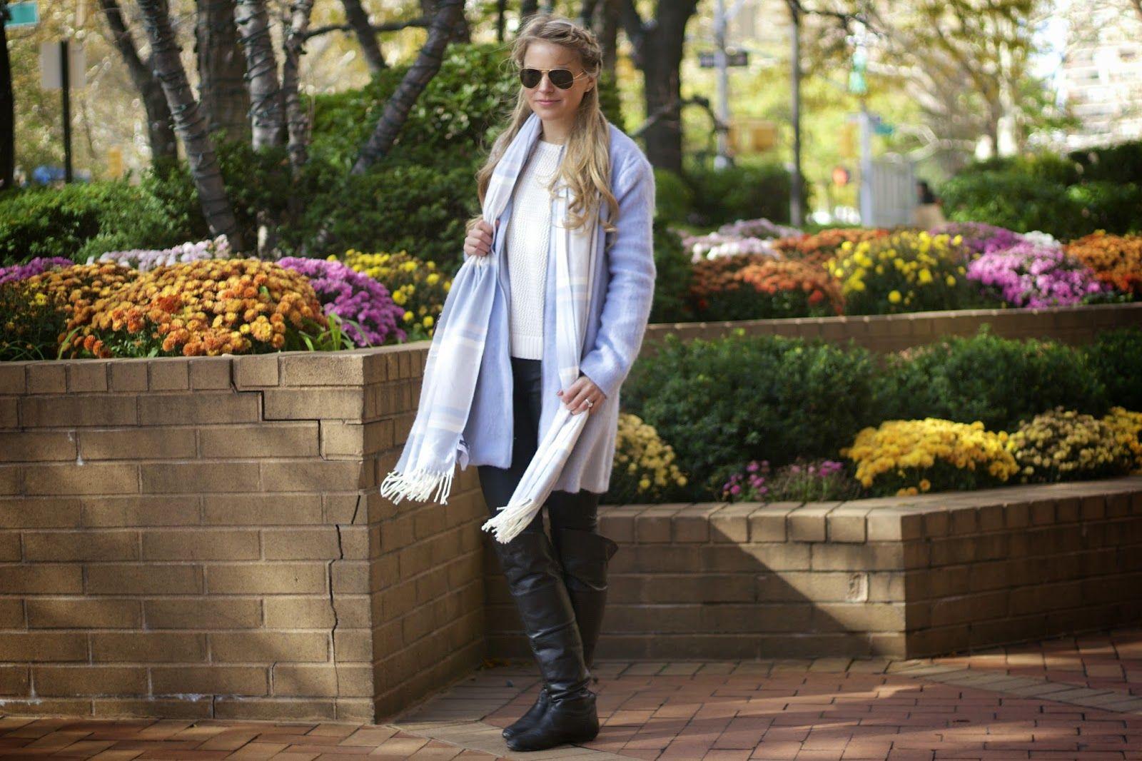 BABY BLUE COAT - Styled Snapshots
