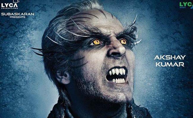 Akshay Looks Evil In 2 0 New Poster Akshay Kumar Hindi Movies Movies Online Free Film
