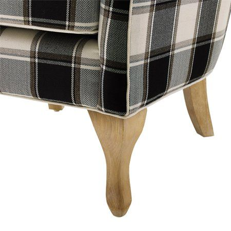 Best Home Pattern Accent Chair Dorel Living Checkered Pattern 640 x 480