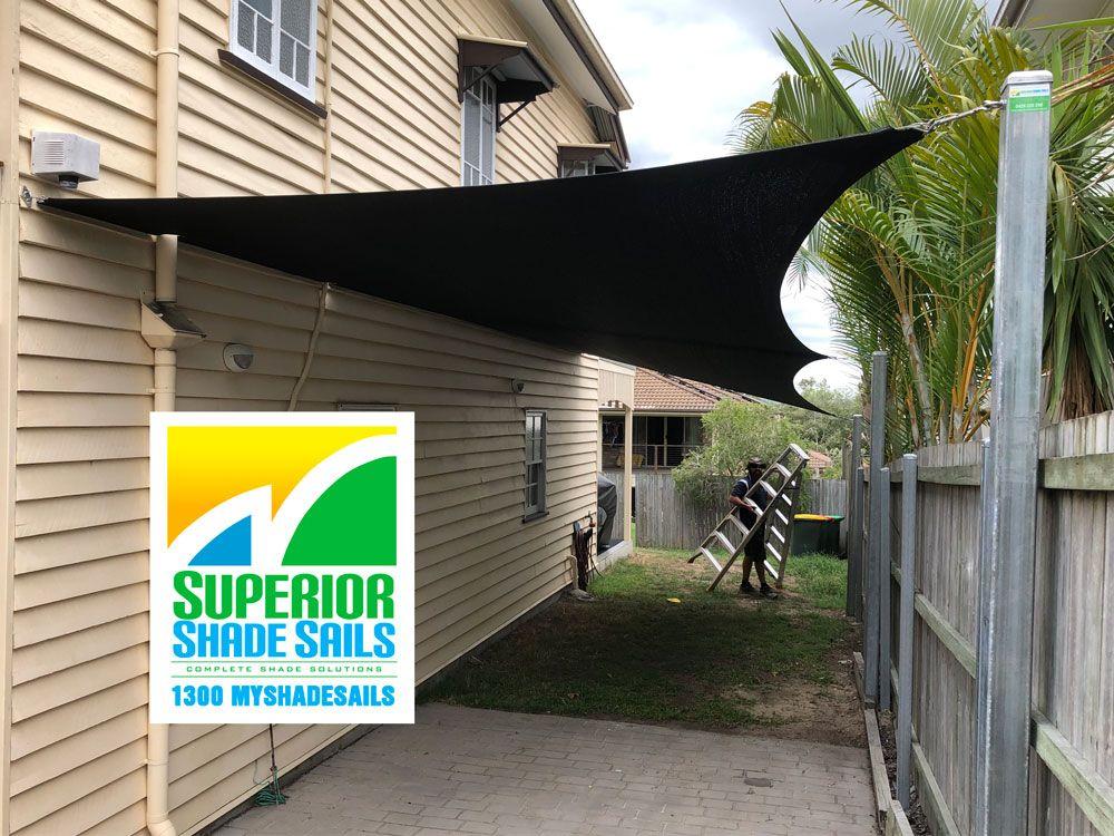 Carport Shade Sail, Yeronga, Brisbane Shade sail
