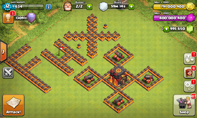 Clash Of Clans Mod FHx V8 Terbaru Private Server Indonesia