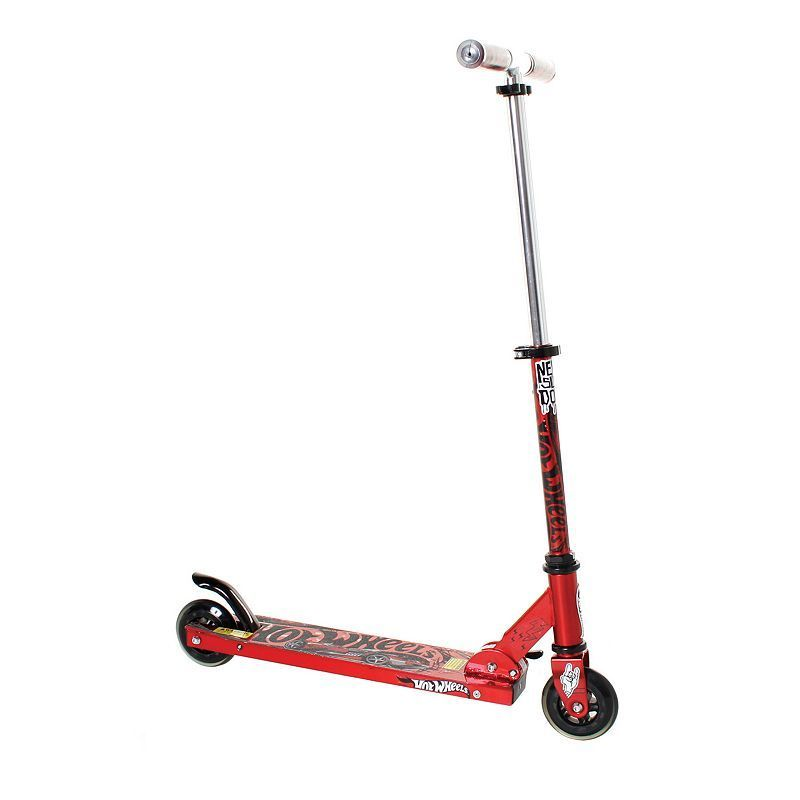 Hot Wheels Folding Scooter, Red