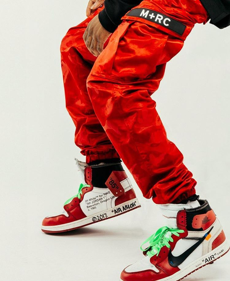 Off White x Nike Air Jordan 1 Chicago | Ropa