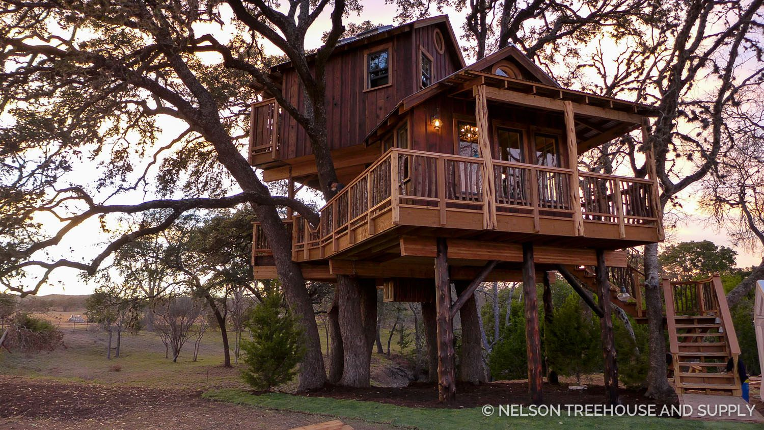 treehouse masters treehouses. Hill Country Hideout- Pete Nelson - Treehouse Masters Season 9 Treehouses