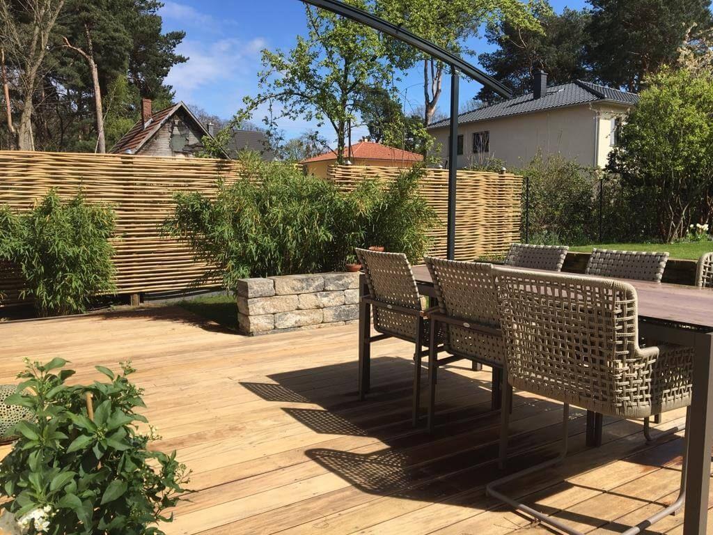 Sichtschutz Ideen Fur Garten Und Terrasse Sichtschutz Ideen Fur Garten Und Te In 2020 Outdoor Decor Patio Outdoor