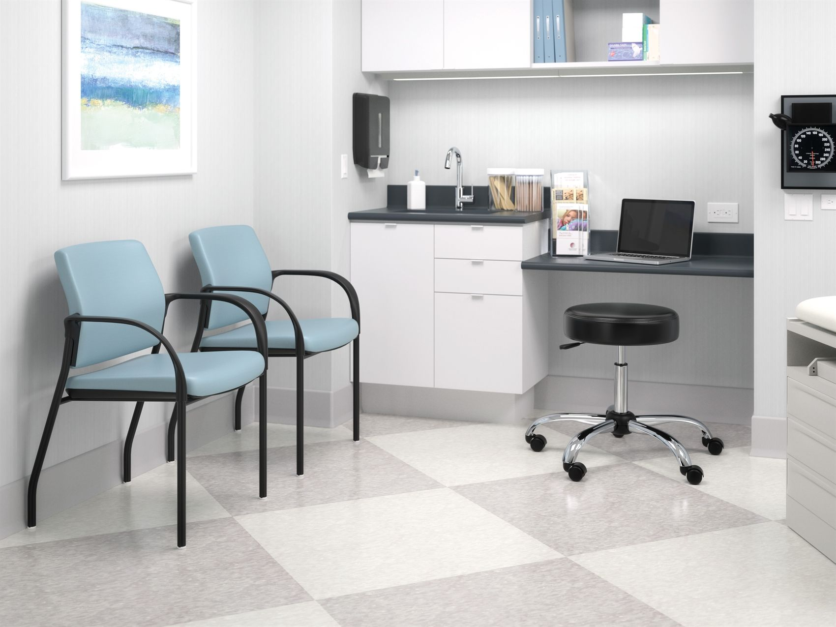 Hon healthcare exam room learn more at for Furniture clinic