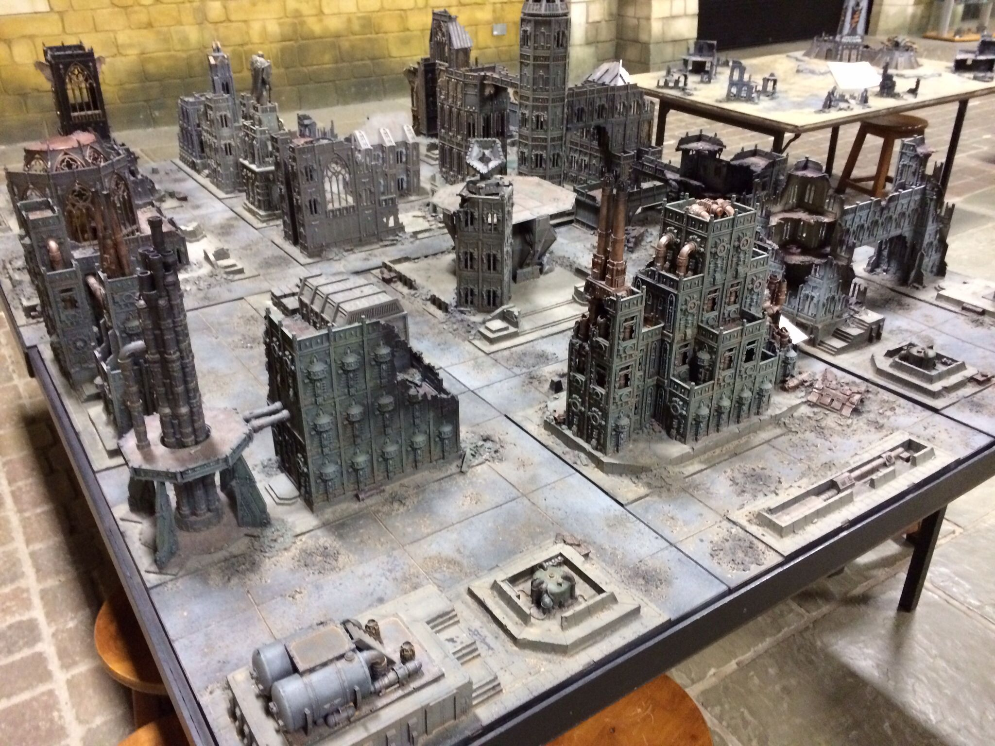 Warhammer World Cities Of Death Board โปรเจกตนาลอง Pinterest