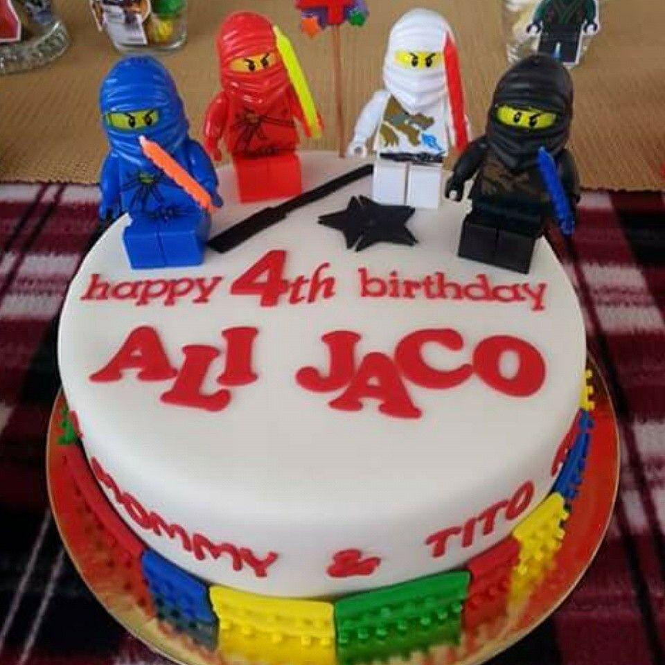 Ninjago Cake #FondantCake #NinjagoCake