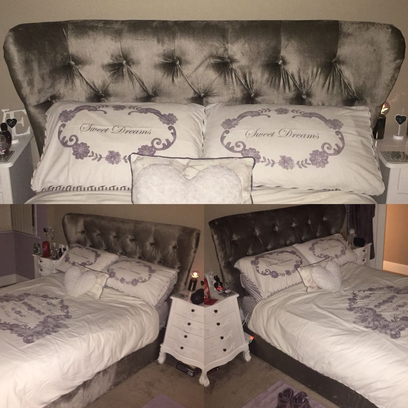 Next Home Bedroom Our New Next Elise Storage Bed Velvet French Grey Our Beautiful