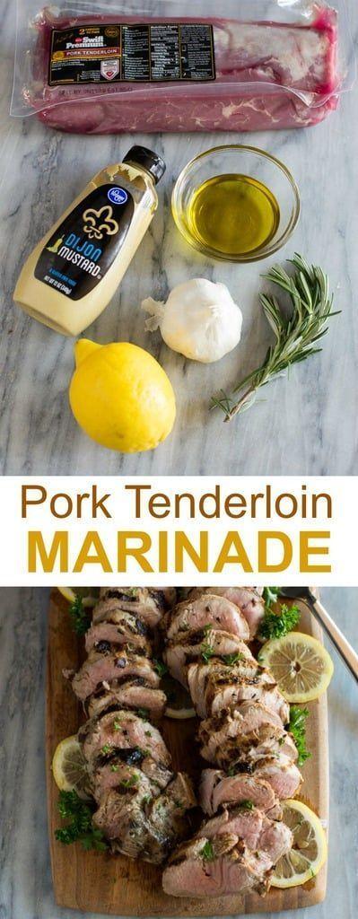 Schweinefilet Marinade  - We Love Food #Schweinefilet auflauf #Schweinefilet #Schweinefilet gesund #porktenderloinrecipes