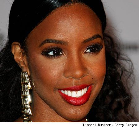 Kelly Rowland Lipstick For Dark Skin Black Girl Red Lipstick